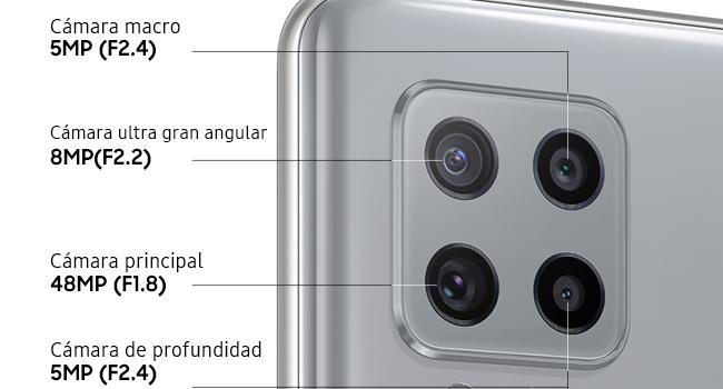 Samsung Galaxy A42 5g cámara